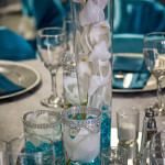 Details of center pieces