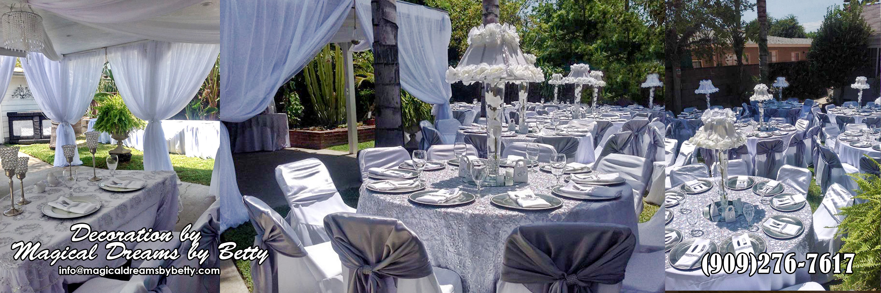 San Bernardino Event Decorator Riverside
