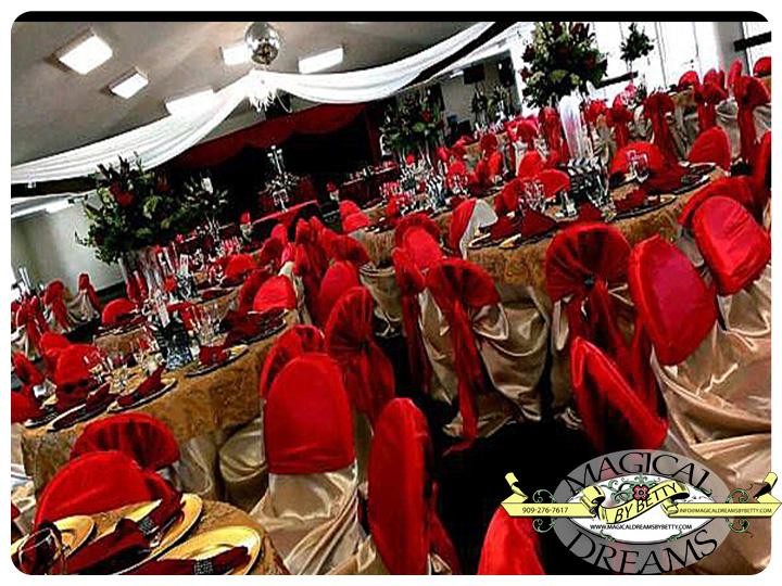 san bernardino event decorator, riverside event decorator ...