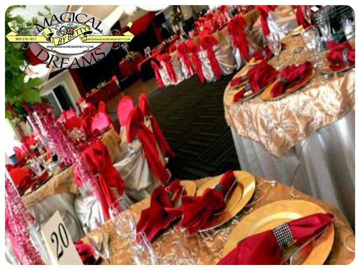 San Bernardino Event Decorator Riverside Event Decorator